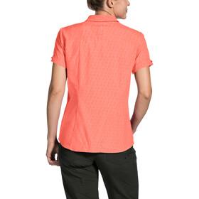 VAUDE Rosemoor Shirt Damen pink canary